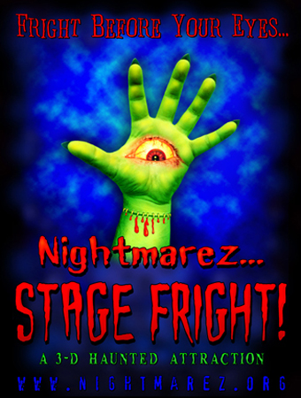 Stage Fright hand 3D