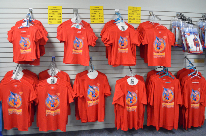Superman Celebration Tees 2013