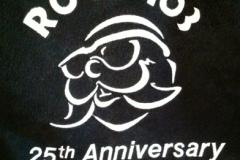 Rock103 25th Anniversary letterman jacket