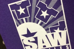 SAW Tee Purple