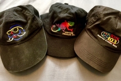 Rock103 and 96x hats