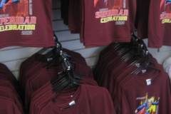 Superman Celebration 2012 maroon tees