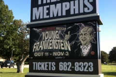 Young Frankenstein sign