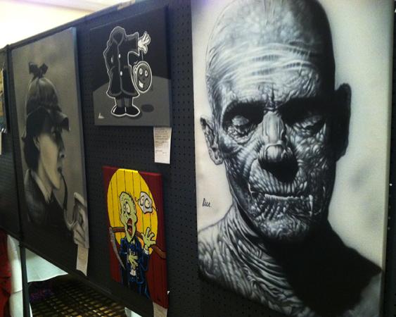 2013 MidSouthCon art show 2