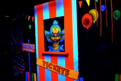 clown face enter