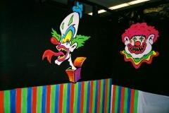 clown faces 3d