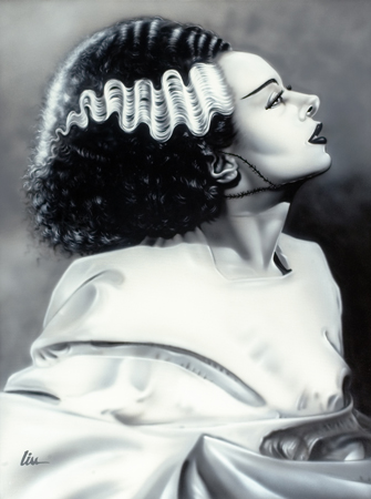 The Bride of Frankenstein (Elsa Lanchester)