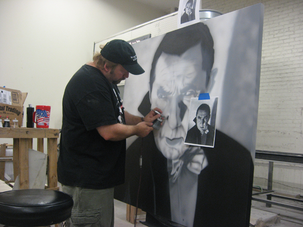 Lin working on Drac