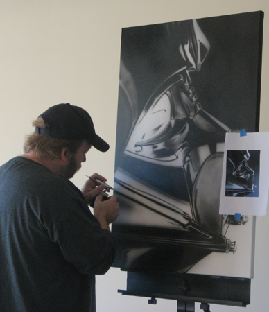 Lin working on Vader