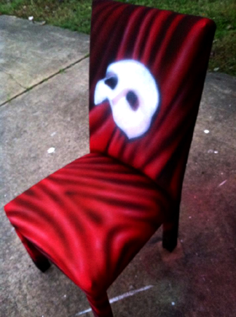 Phantom chair red