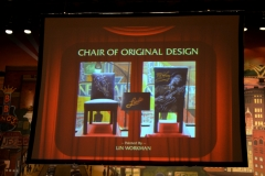 BB chair auction stage