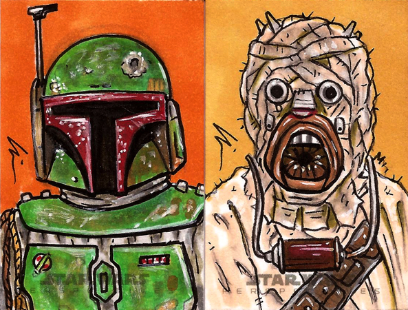 Star Wars, Chrome Perspectives10