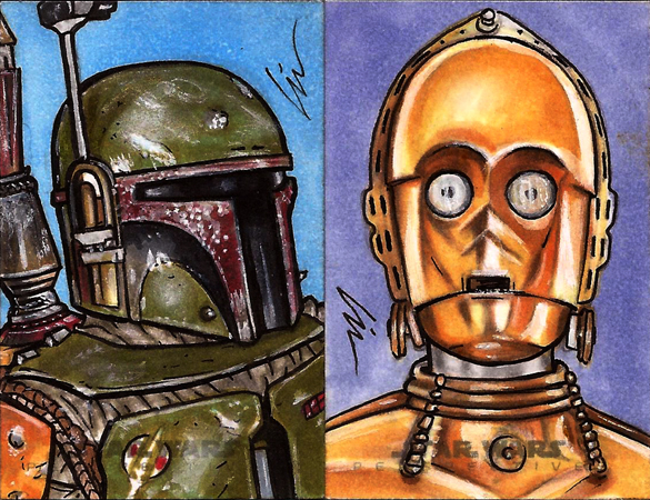 Star Wars, Chrome Perspectives15