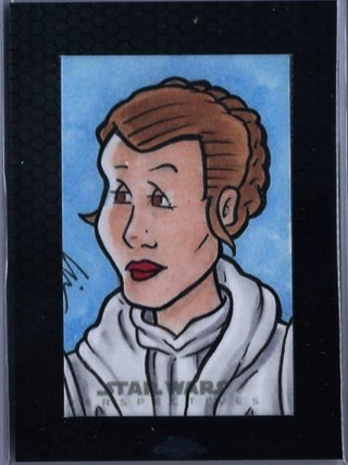 Star Wars, Chrome Perspectives Leia