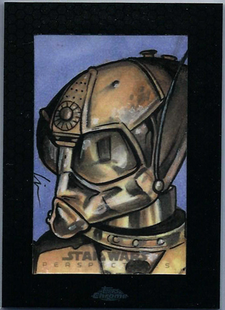 Star Wars, Chrome Perspectives Death Star Droid