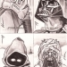 Star Wars, Chrome Perspectives pencils