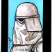 Star Wars, Chrome Perspectives Snow Trooper