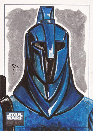 Guard blue