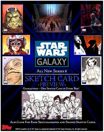 Topps Galaxy 6 Preview