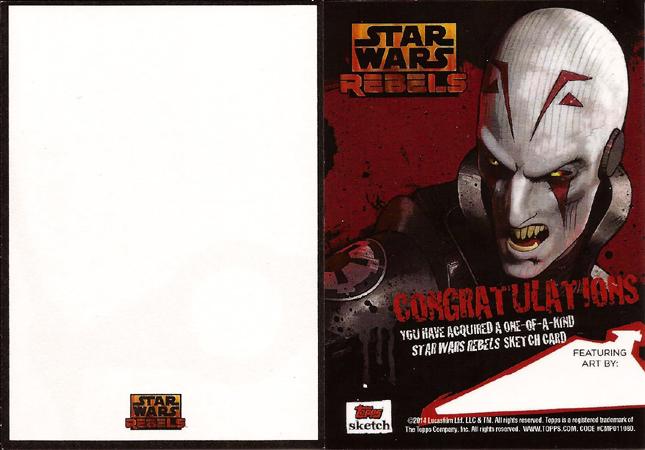 Rebels cards