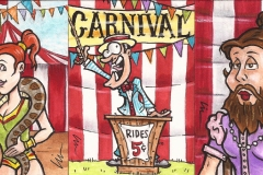"Viceroy Card Co. ""CARNIVAL\"""