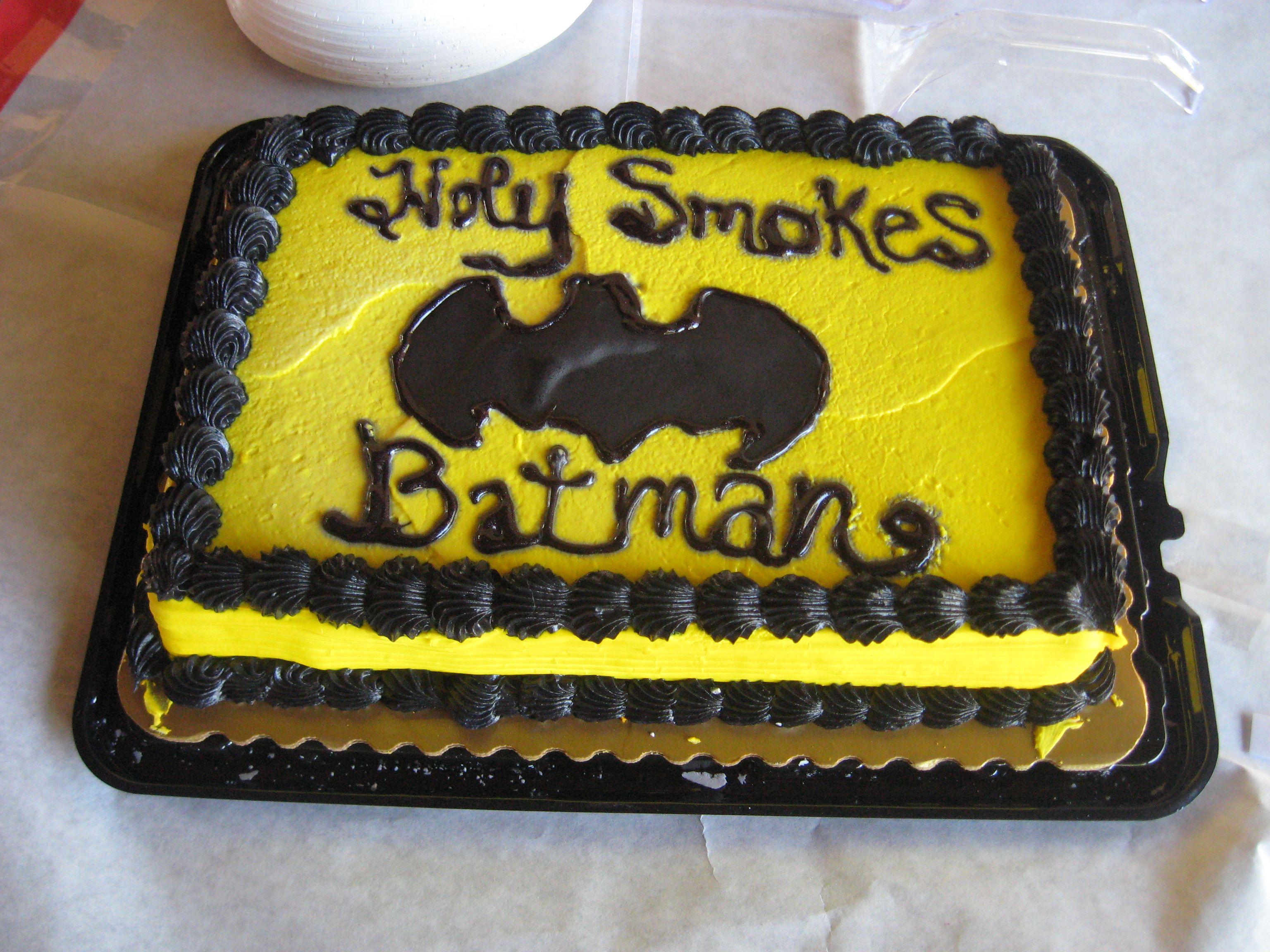 """Holy-Matrimony, Batman!"""" Our geek wedding cake topper – LinWorkman.com"""