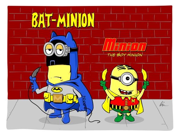 Bat-Minion & Minion the Boy Minion!