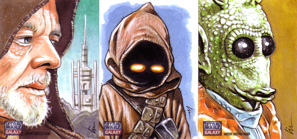 Back To The Drawing Board For Topps' Star Wars Galaxy 7