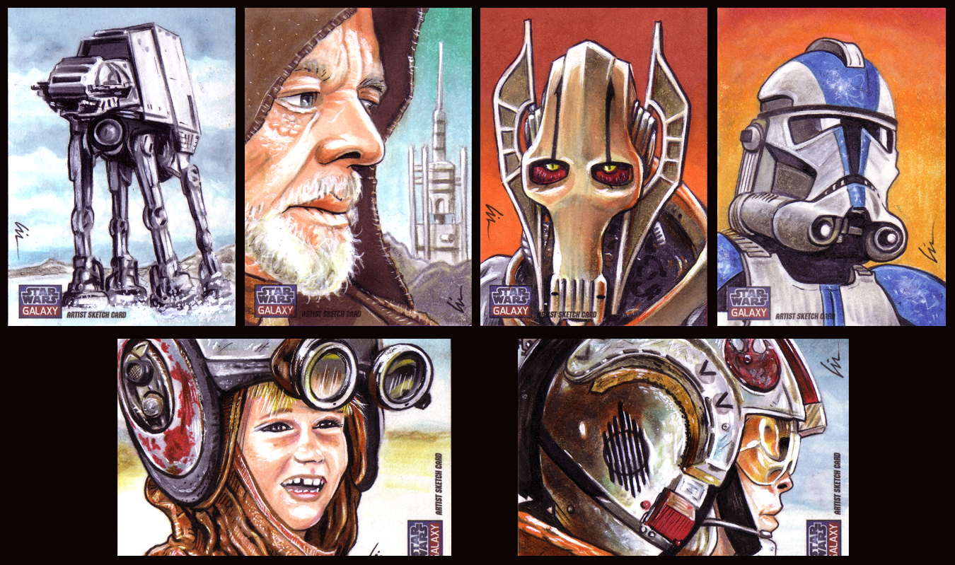 Shadowcon GOH Appearance This Friday and Saturday and Star Wars Galaxy 7 Artists Returns Now Available