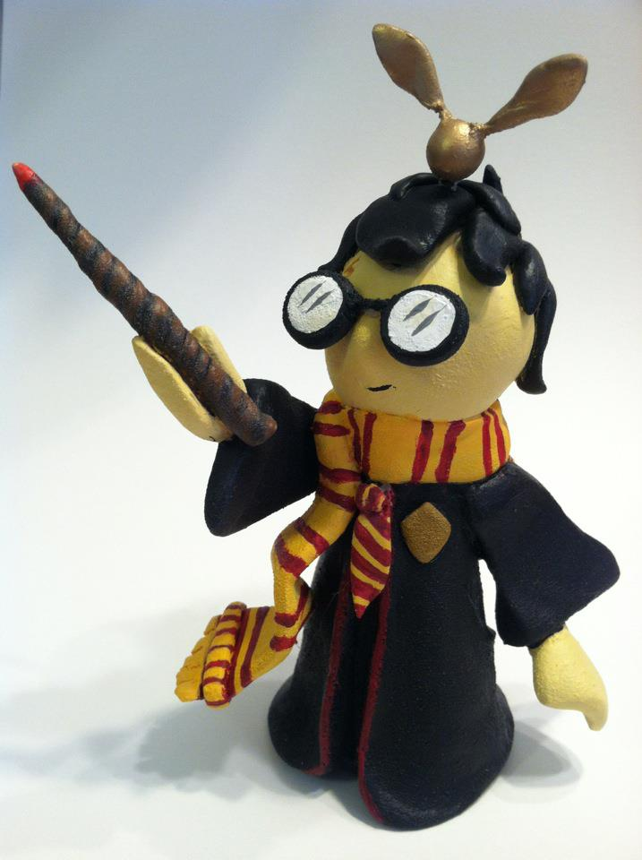 """You're a wizard, Harry!""- new resin sculpt"
