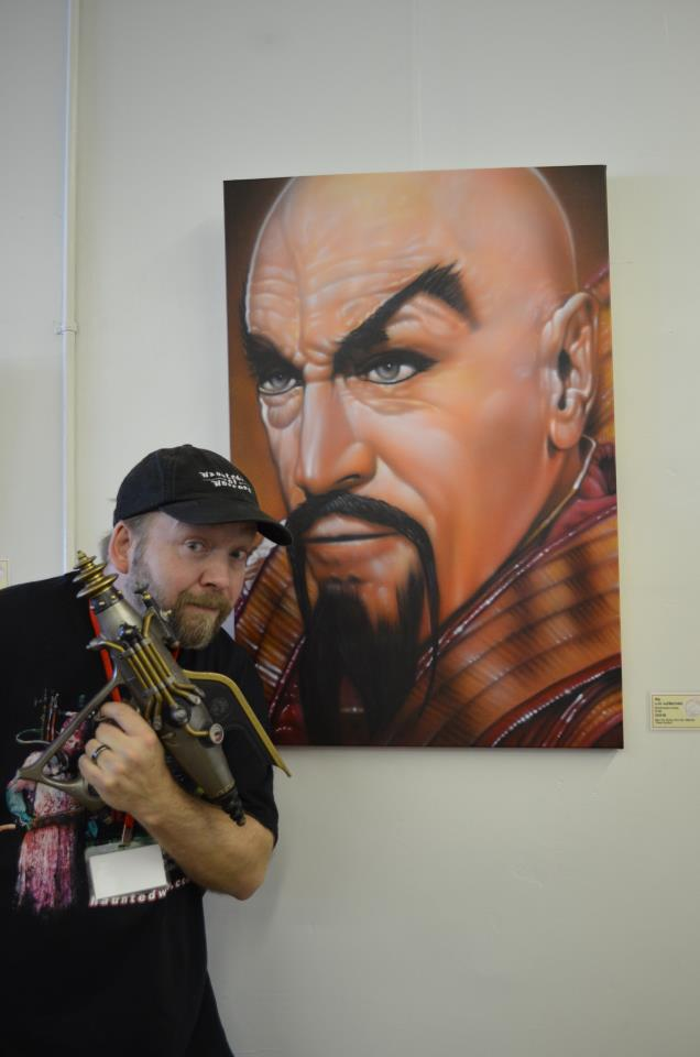 """Klytus, I'm bored. What painting can you offer me today..?"" The Creation Of My Ming The Merciless Painting"