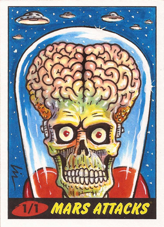 Mars Attacks Controls