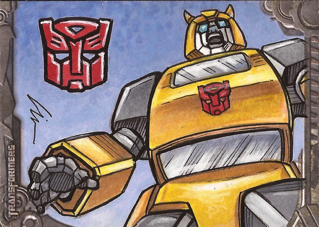 """Artist Returns, ROLL OUT!"" My Transformers Sketch Cards Are Now Available!"