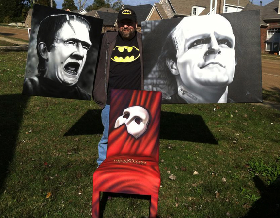"My Phantom of the Opera chair goes for ""chair-ity""- The Orpheum's Annual Auction"