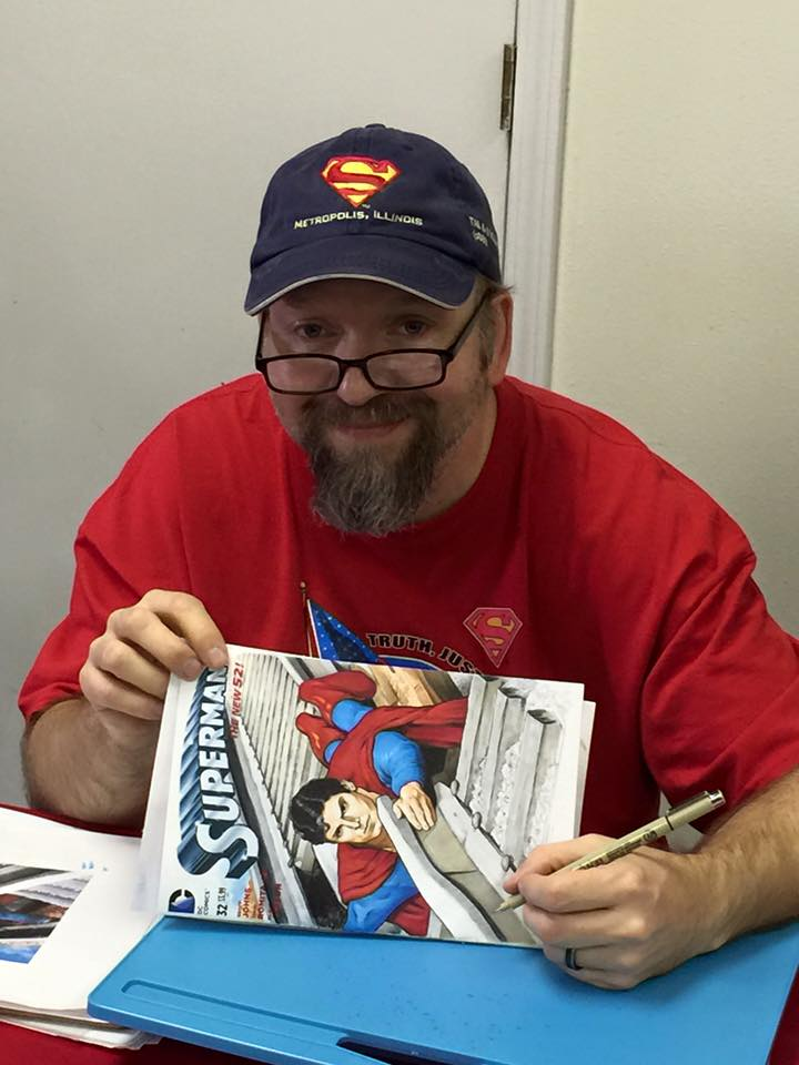 "Things Were ""Sketchy"" For Me At This Year's Metropolis Superman Celebration- And I Loved It!"