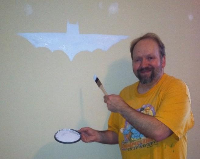 Buliding A Better Batcave: My New And Improved Art Studio/BatMan-Cave