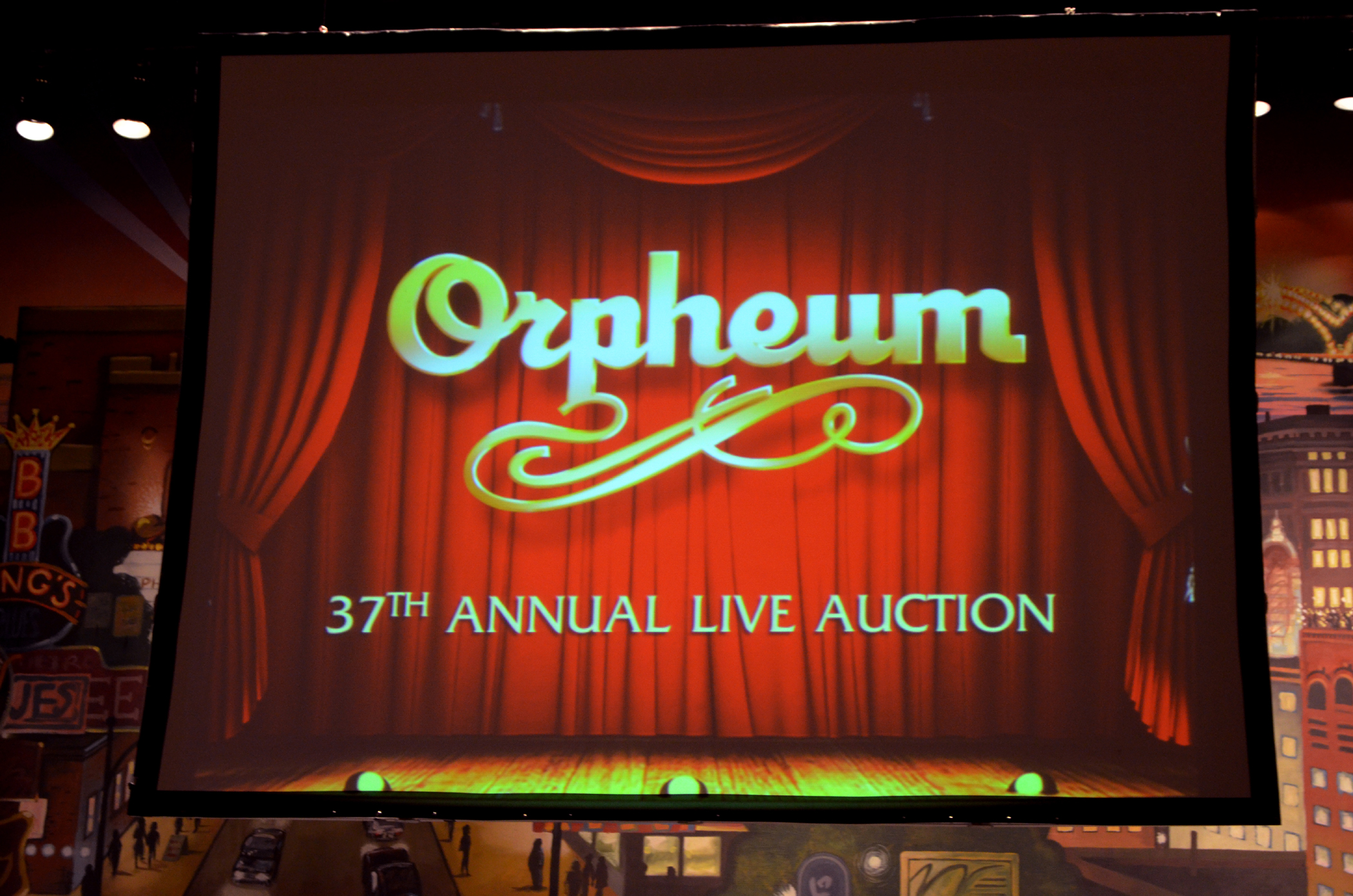 New Chair For Charity- 37th Annual Orpheum Auction